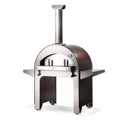 Alfa 4 Pizze Oven with Base Copper