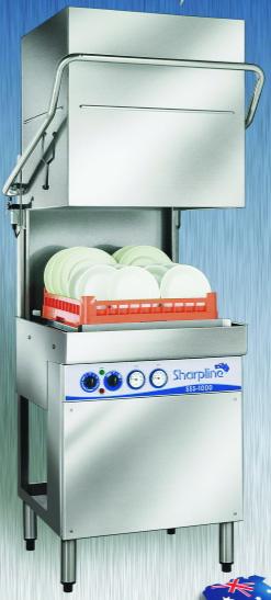Commercial Dishwasher Model SSS-1000