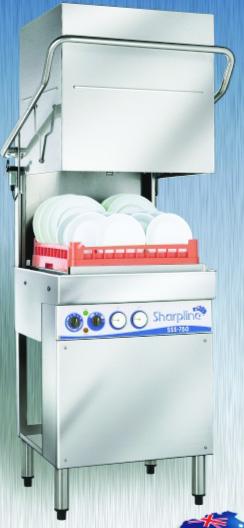 Commercial Dishwasher Model SSS-750
