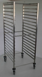 Mobile Gastronorm Rack 1650x595x685 - Click for more info
