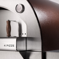 Alfa 4 Pizza Oven with Base Copper