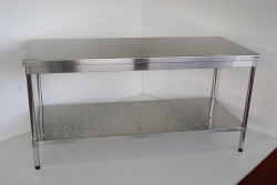 Table with Shelf Under 900x1500x600 - Click for more info